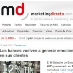 Los bancos vuelven a generar emociones positivas en sus clientes   Marketing Directo