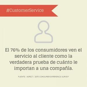 Customer Service prueba para el cliente