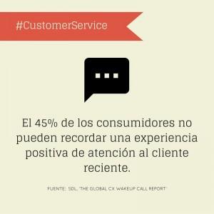 Experiencia Atención al Cliente