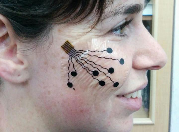 Tatuaje que mide emociones desarrollado por la Universidad de Tel Aviv