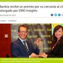 Bankia-recibe-un-premio-por-su-cercania-al-cliente-otorgado-por-EMO-Insights
