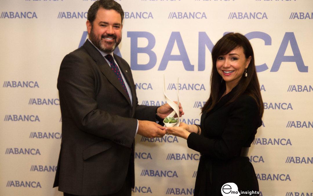 ABANCA recibe el galardón EMOtional Friendly Bank por la segunda mejor evolución en EMO Index® en los últimos tres años