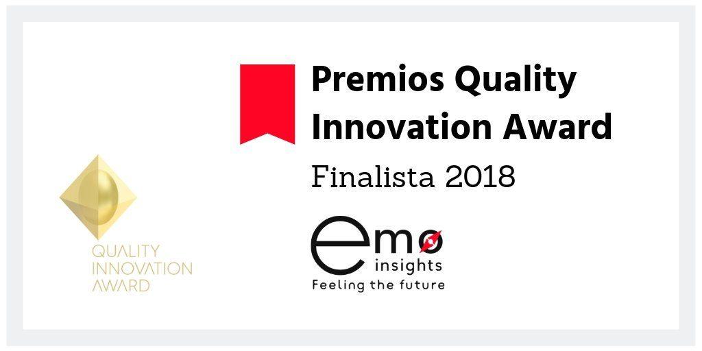 Finalistas en los Quality Innovation Awards
