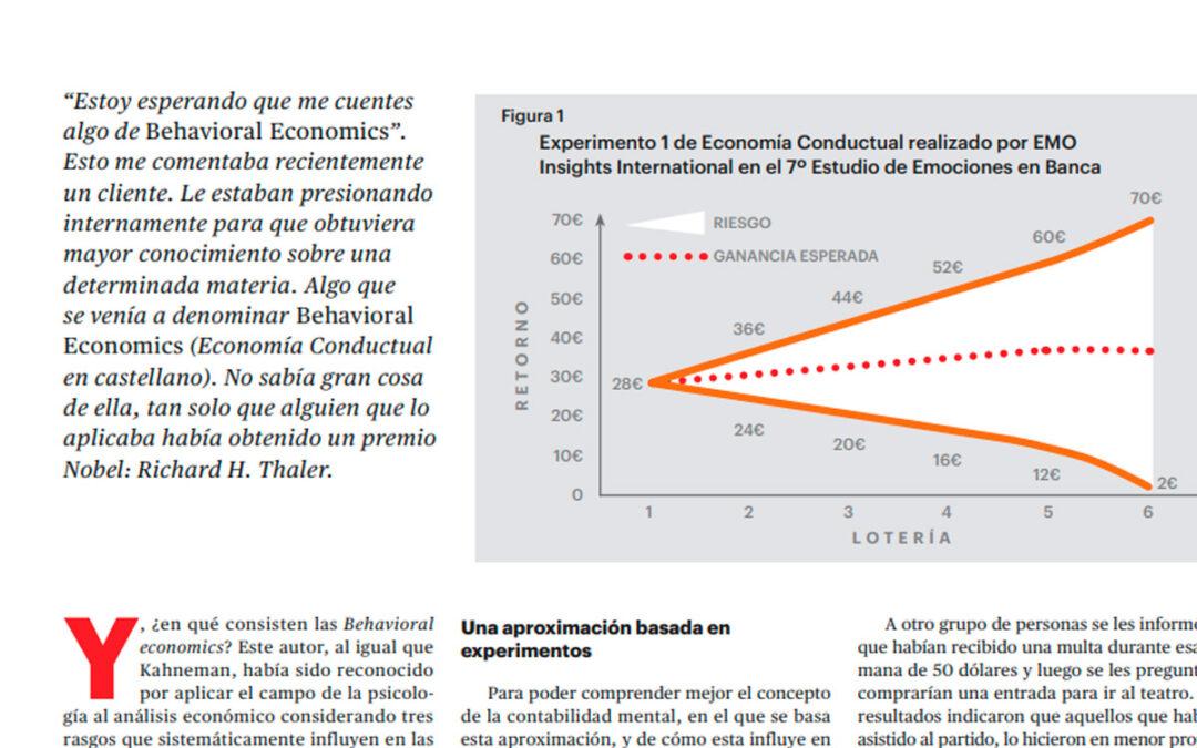 EMO Insights publica en IPMark sobre Economía Conductual