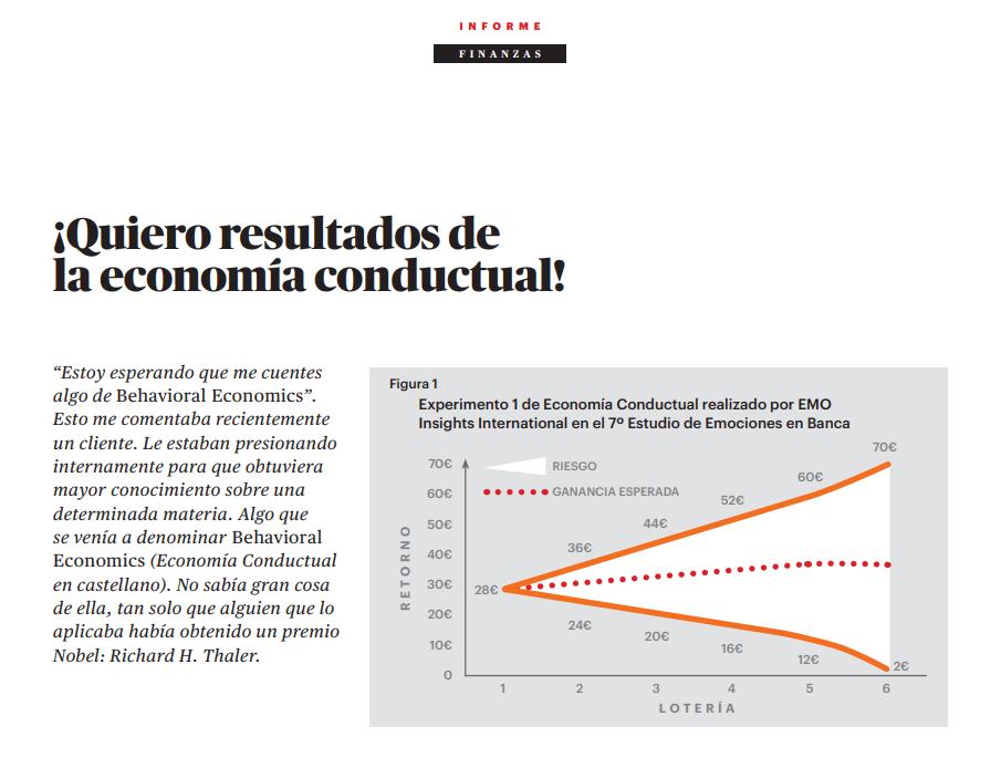 Economía Conductual en EMOBanca