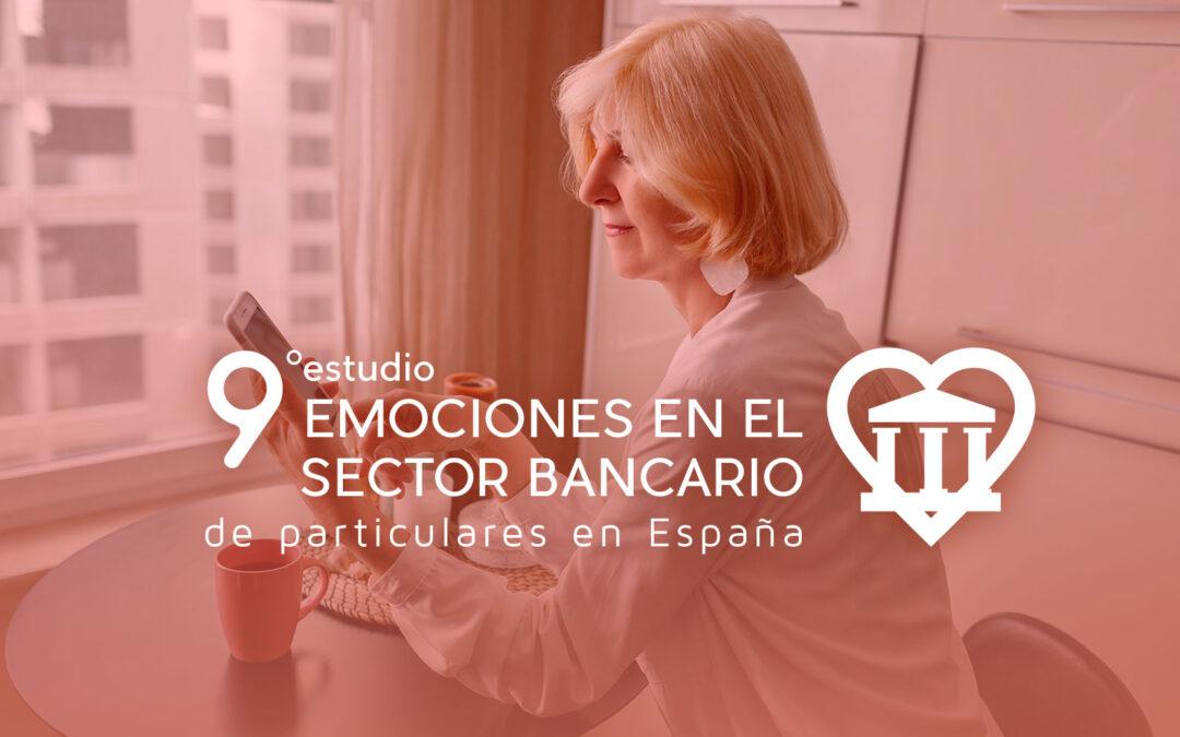 Abierta convocatoria del 9º Estudio de Emociones en Banca  (último día 20 de octubre)