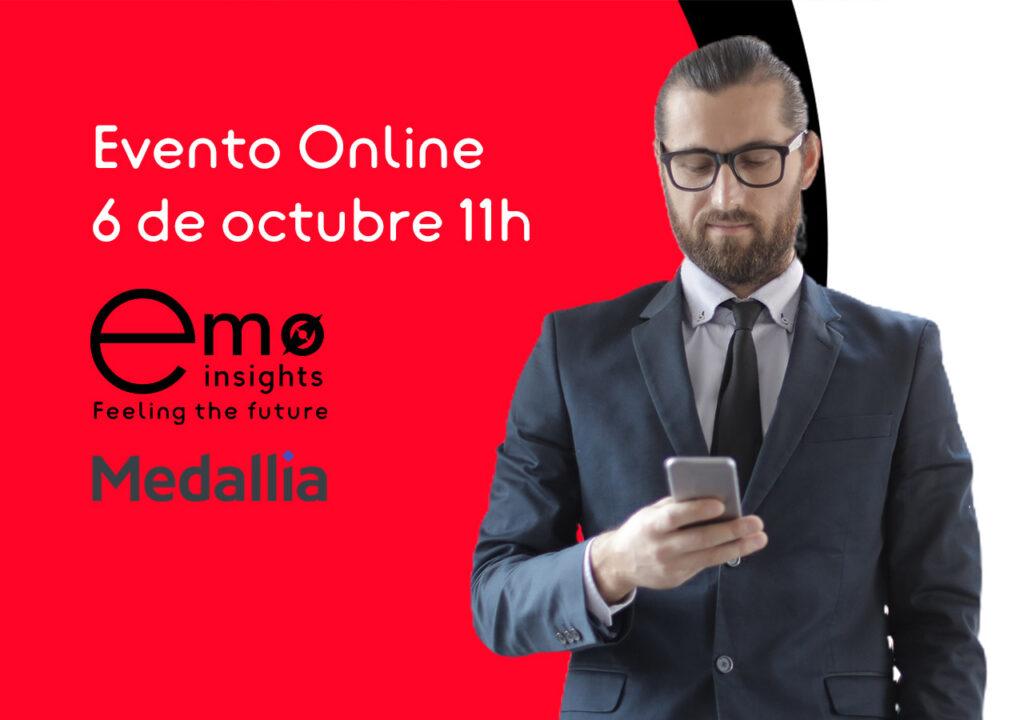 evento online medalia emo insights